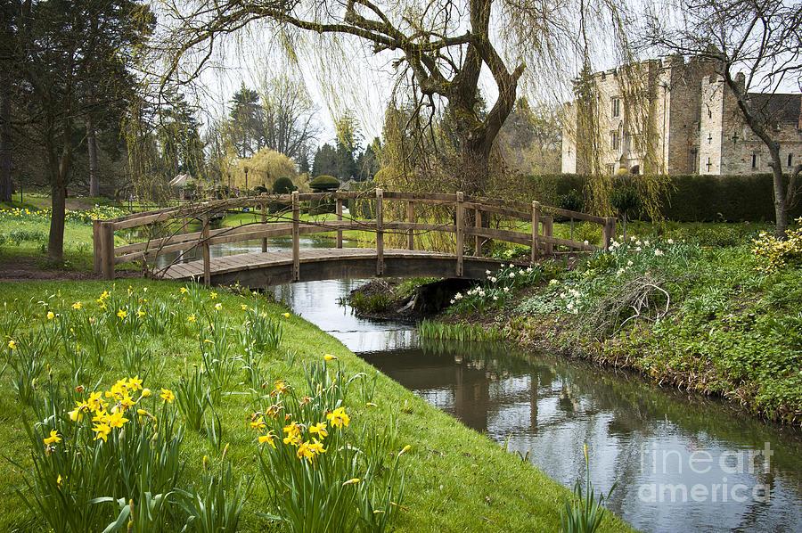 Spring Photograph - Heaver Castle In Spring by Donald Davis