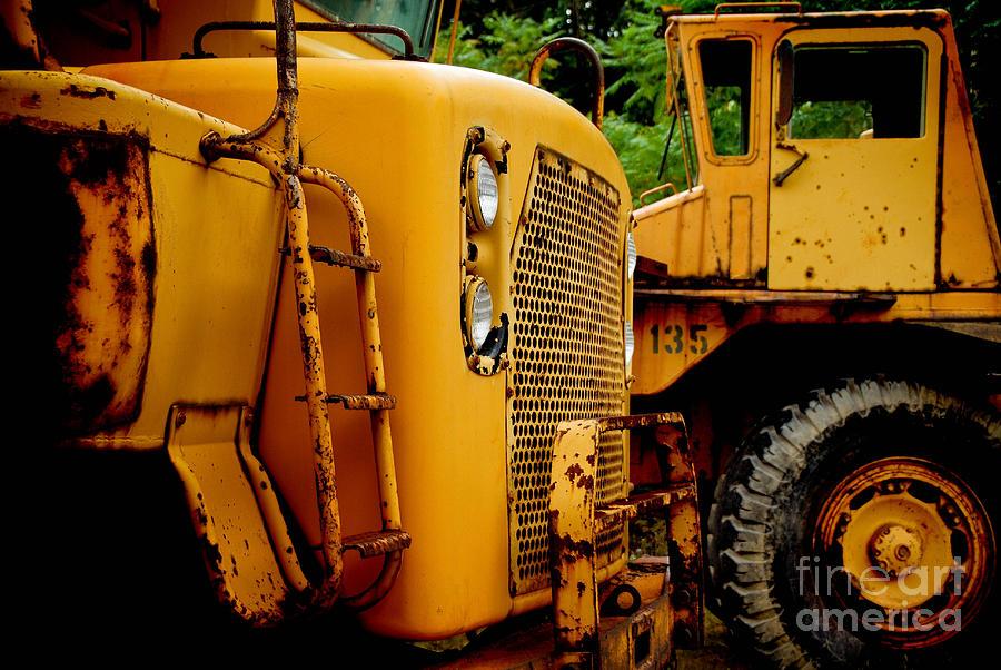 Bulldozer Photograph - Heavy Equipment by Amy Cicconi