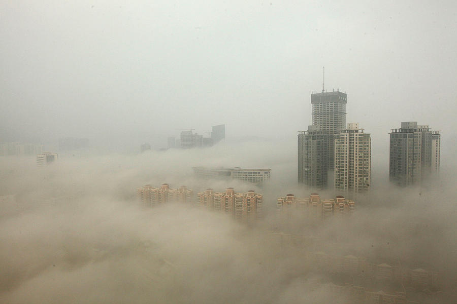 Heavy Smog Hits East China Photograph by Vcg