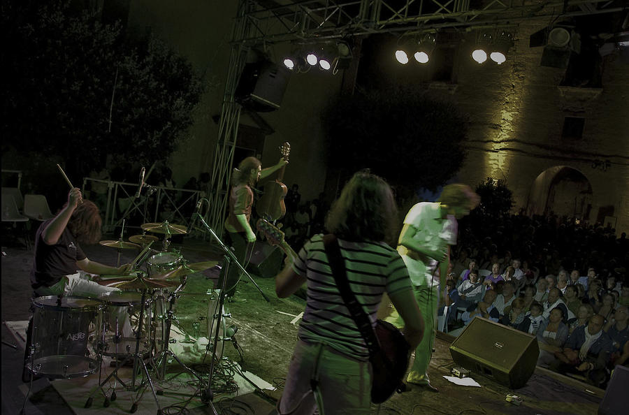 Concert Photograph - Heavy Wood Live by Free Press
