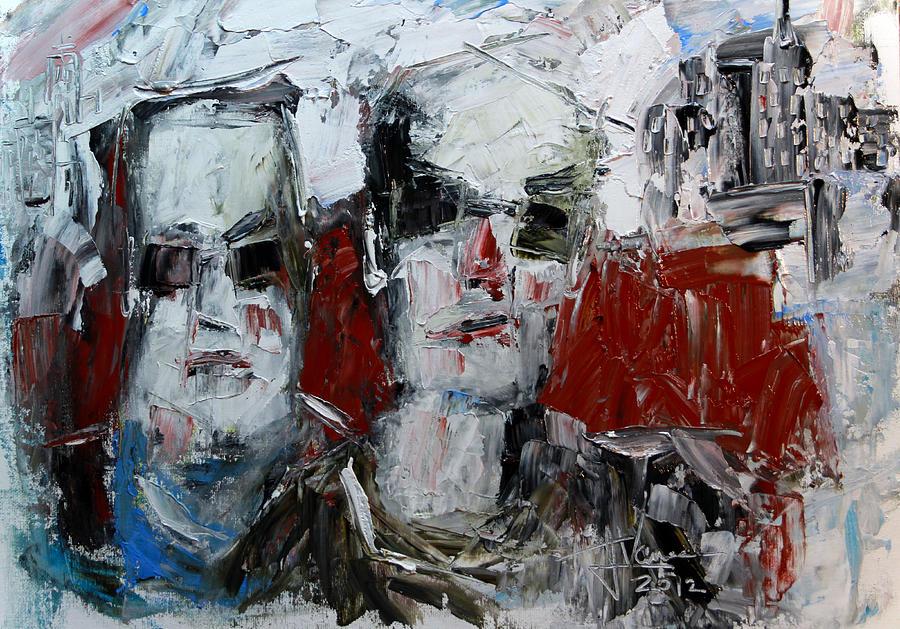 Heavys Painting by Jim Vance