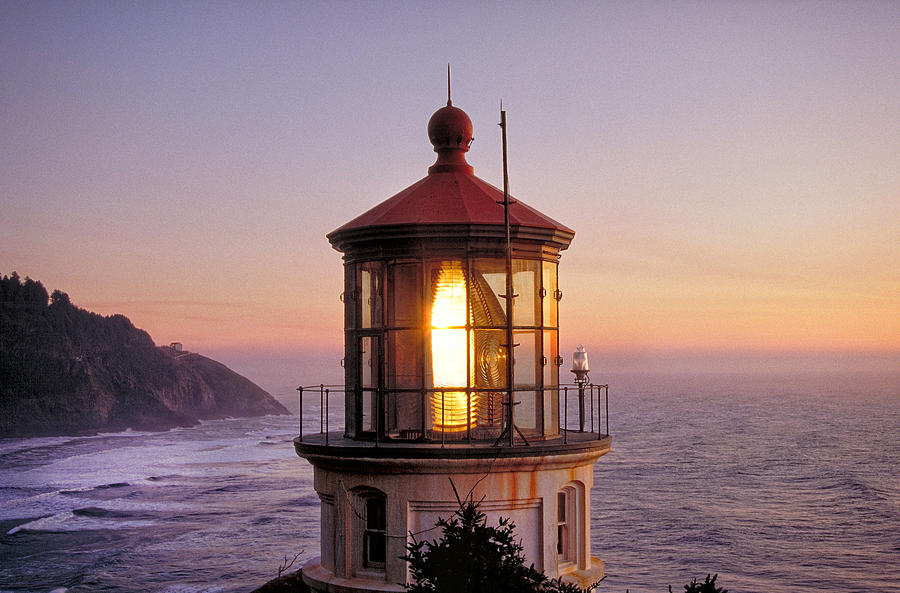 Lighthouse Photograph - Heceta Head Light by William Britten