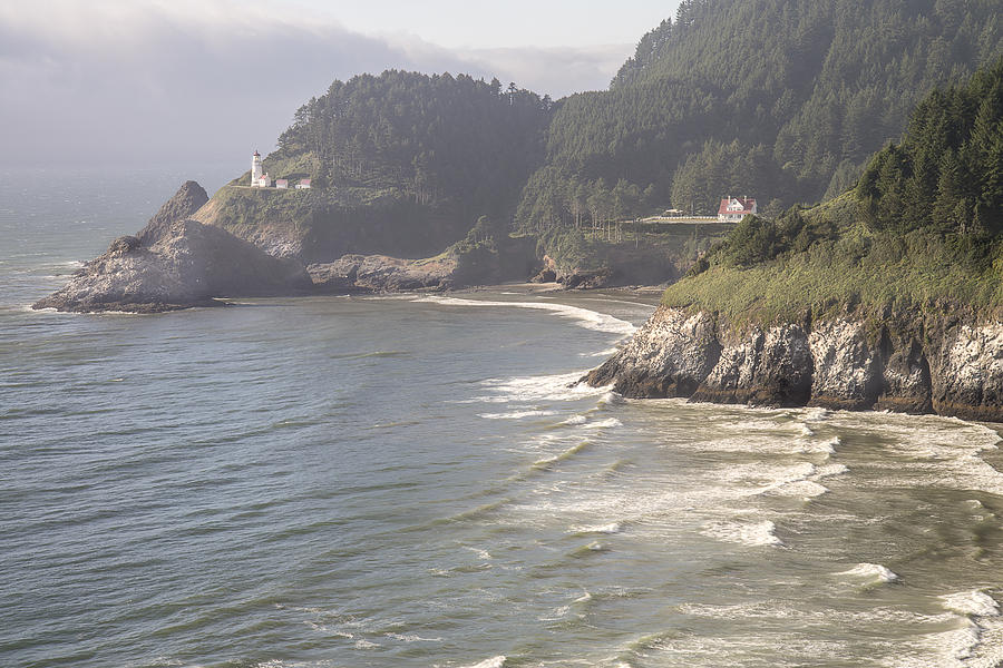 Heceta Head Lighthouse by Lee Kirchhevel