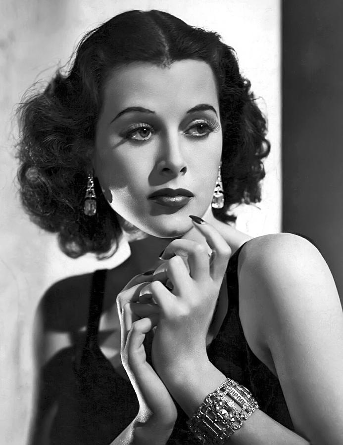 Hedy Lamarr Photograph - HEDY LAMARR - BEAUTY and BRAINS by Daniel Hagerman