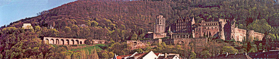 Heidelberg Castle And Arches Photograph by Kimo Fernandez