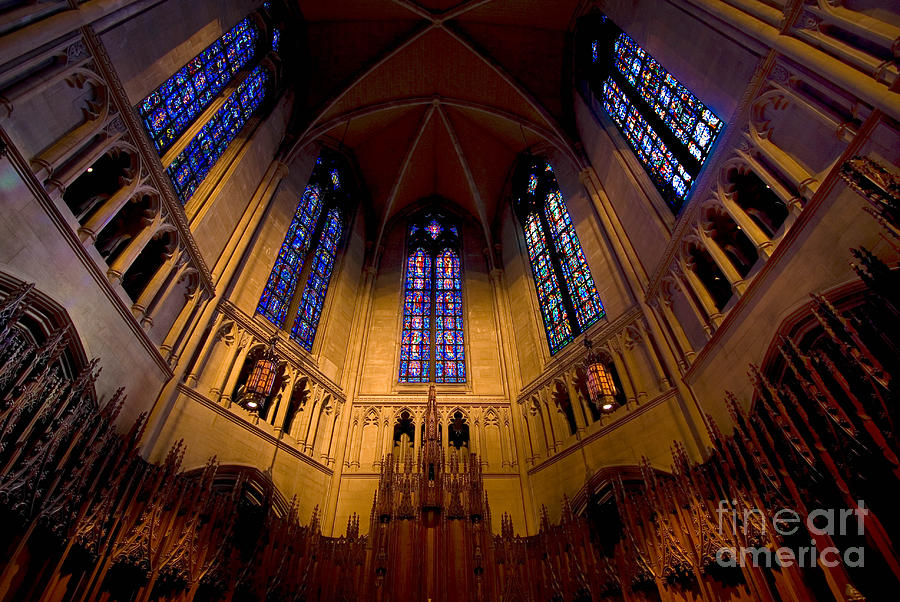 Allegheny County Photograph - Heinz Memorial Chapel Pittsburgh Pennsylvania by Amy Cicconi