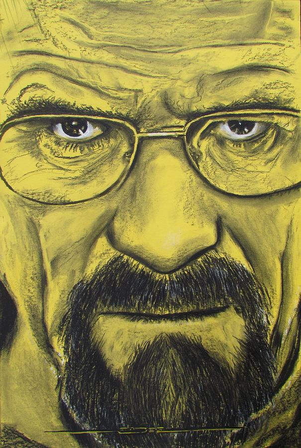 Heisenberg Breaking Bad Pastel By Eric Dee
