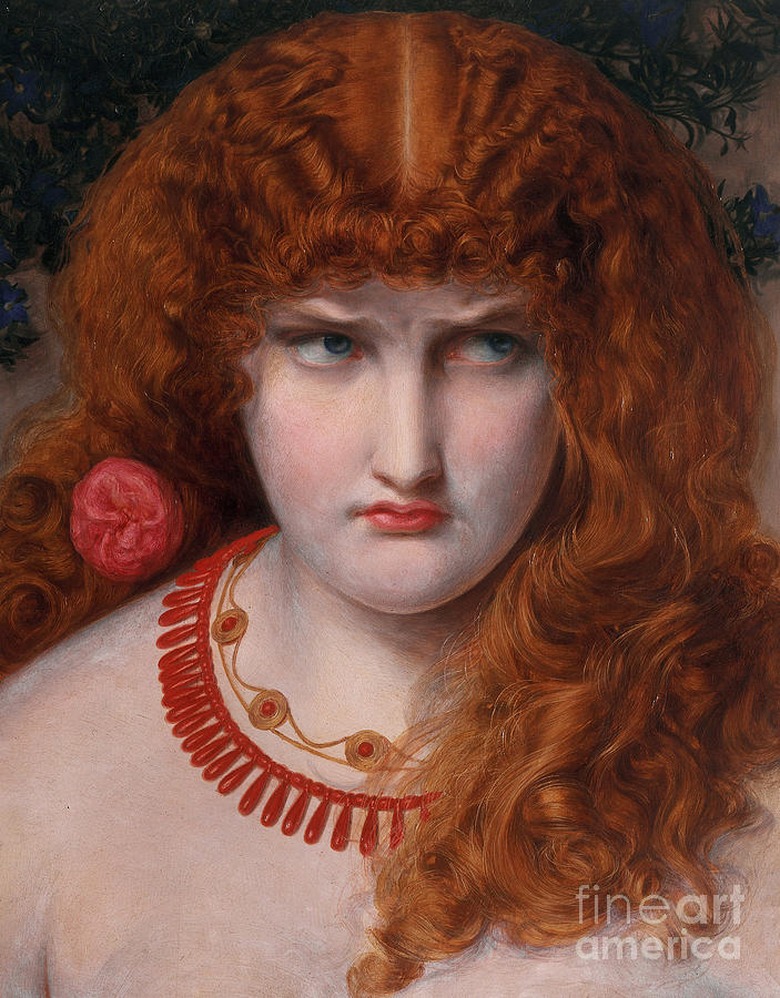 Helen Painting - Helen Of Troy by Anthony Frederick Augustus Sandys