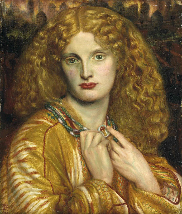 Pre-raphaelite Painting - Helen Of Troy by Philip Ralley