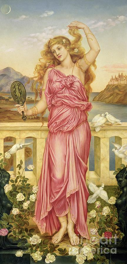 William Painting - Helen Of Troy by Evelyn De Morgan