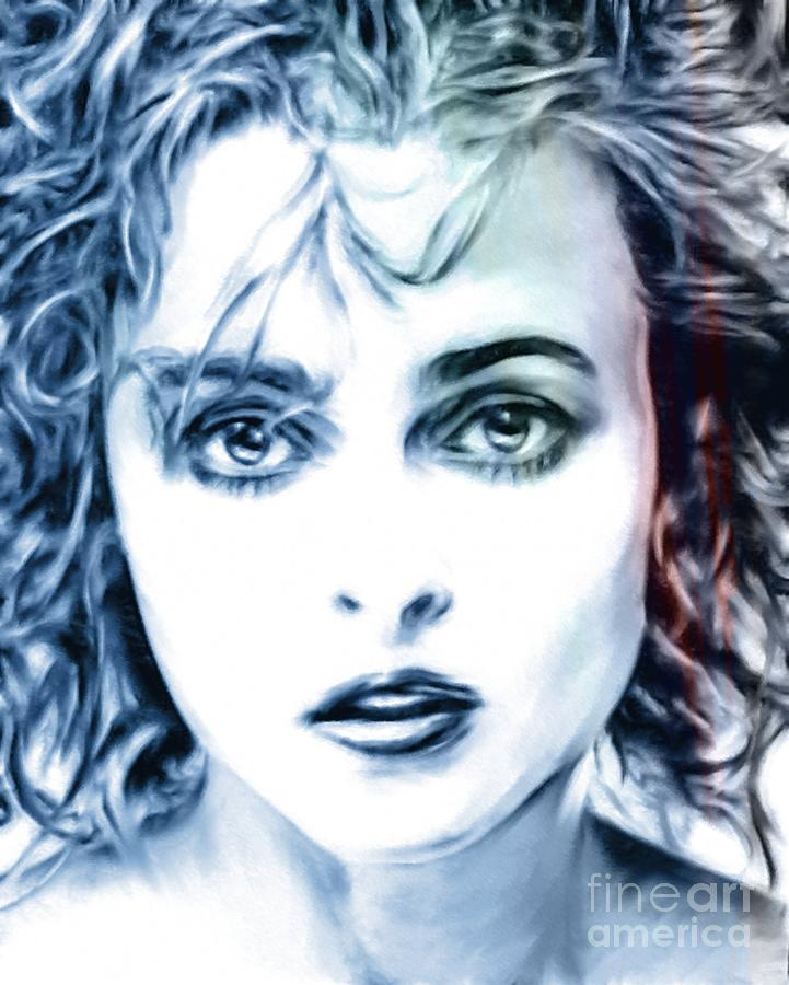 Helena Bonham-carter Mixed Media - Helena Bonham-carter by Wu Wei
