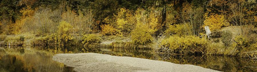 Autumn Photograph - Hello Autumn Panorama by Diane Schuster
