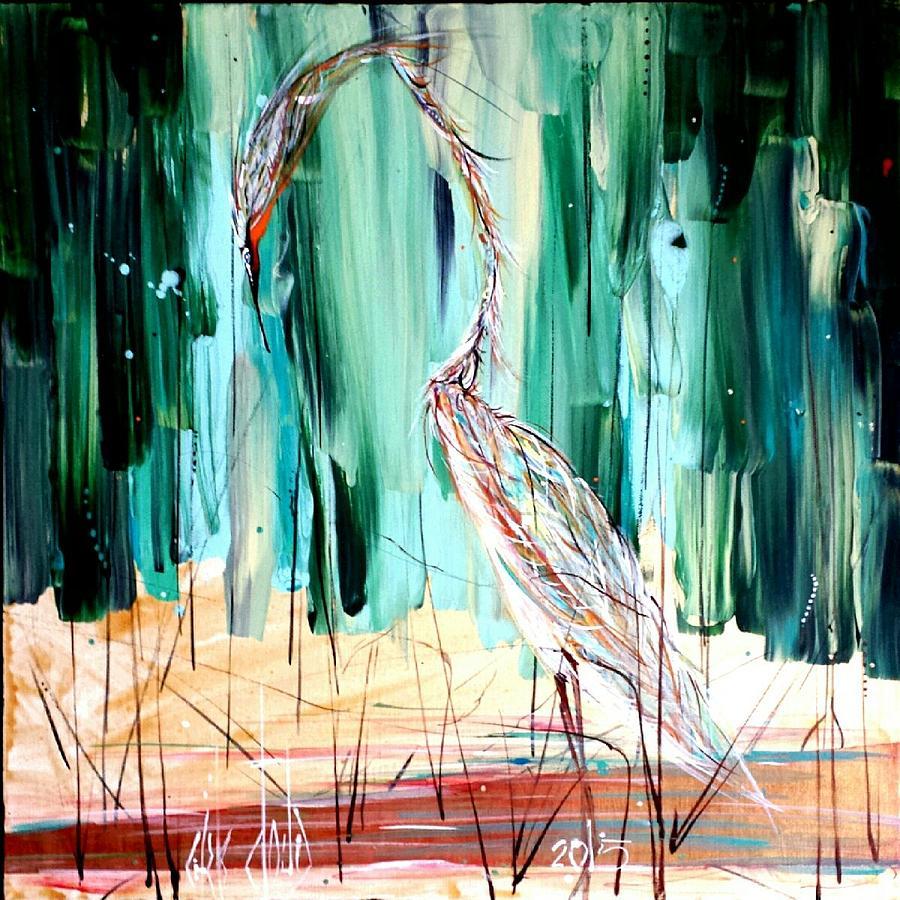 Coastal Painting - Hello Beautiful II by Chris Cloud