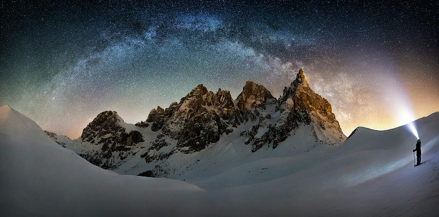 Hello Milky Way Photograph by Dr. Nicholas Roemmelt