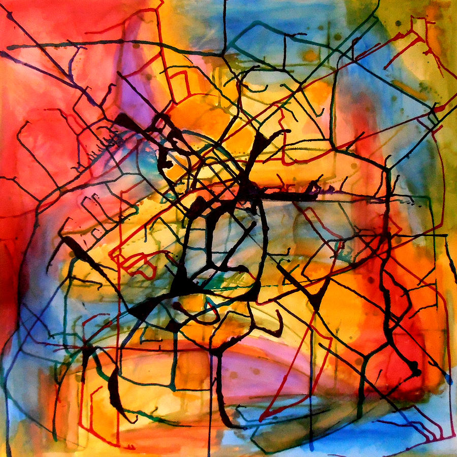 Abstract Painting - Hello Wassily by Art by Kar