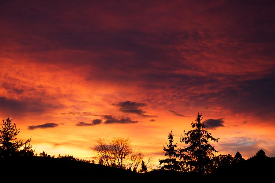 Sunset Photograph - Hells Calling by Kevin Bone