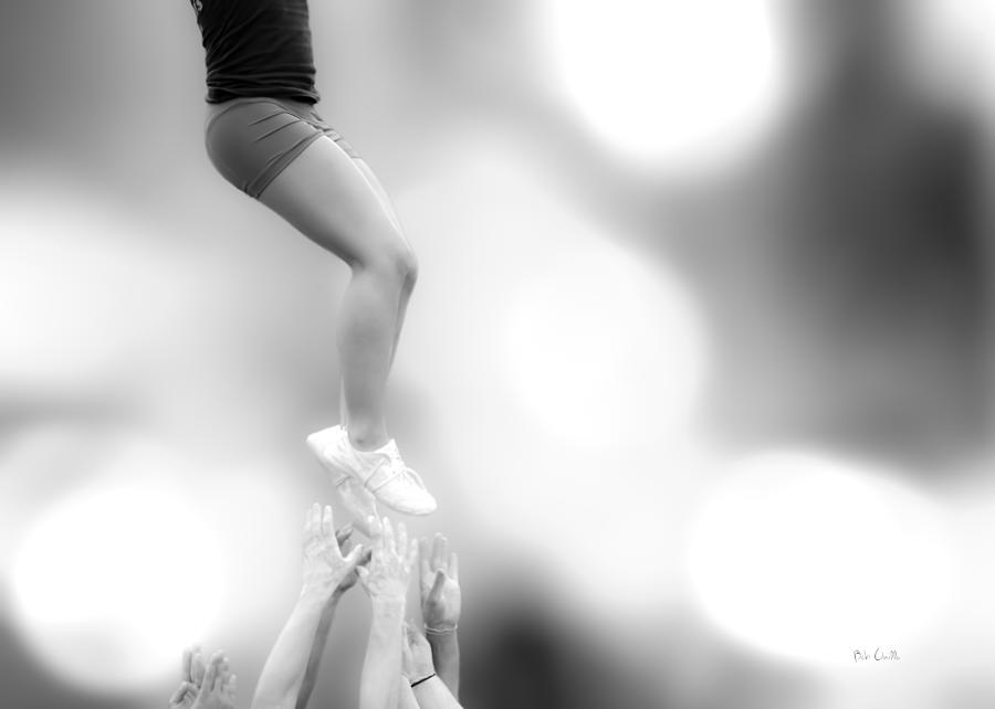 Gymnastics Photograph - Helping Hands by Bob Orsillo