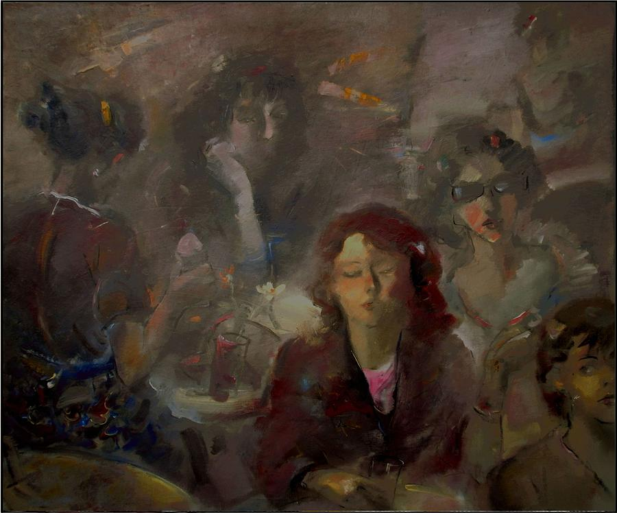 People Painting - Hen Party by Danail Tsonev