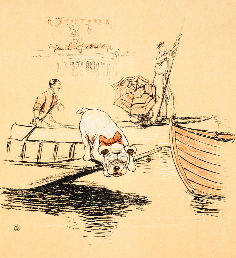 Aldin Painting - Henley Regatta by Cecil Charles Windsor Aldin