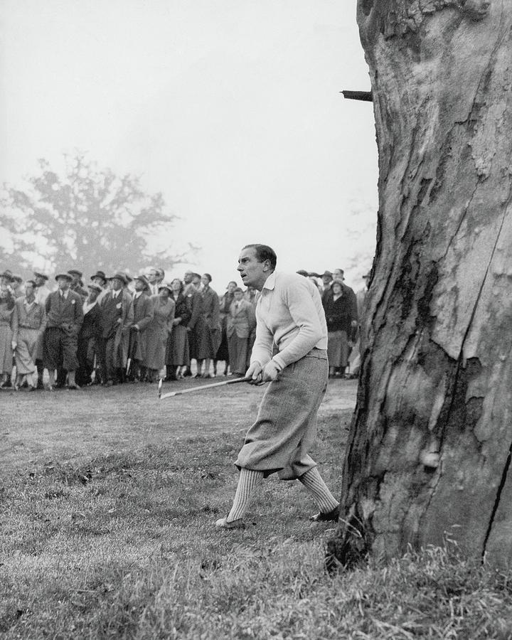 Henry Cotton Playing Golf Photograph by Keystone Press Agency Ltd