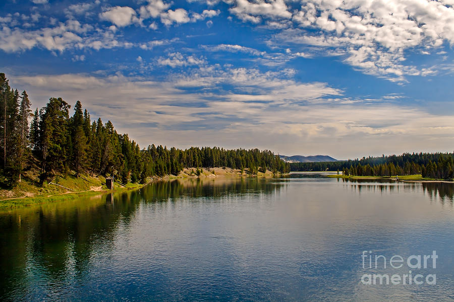 Wyoming Photograph - Henry Fork Of Snake River II by Robert Bales