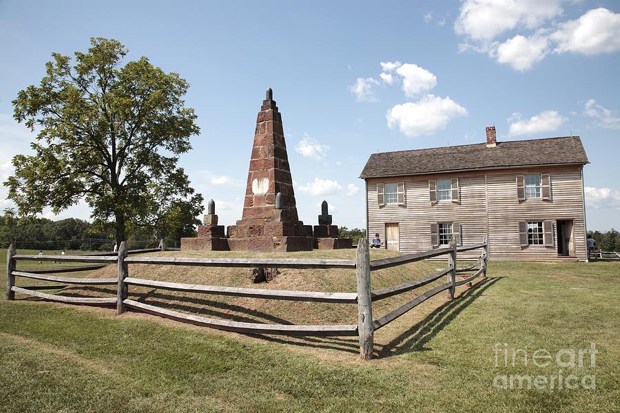 Battle Of Bull Run Photograph - Henry Hill At Manassas by William Kuta