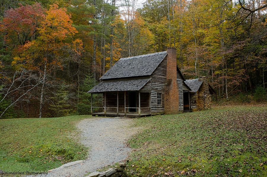 Great Smokey Mountain National Park Photograph - Henry Whitehead Place Cades Cove Gsmnp by Paul Herrmann