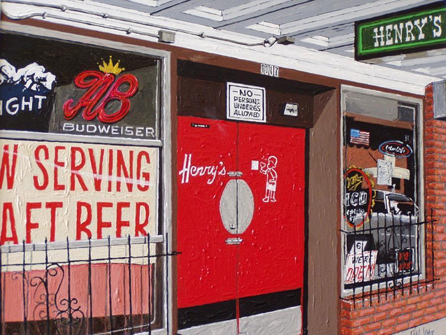 Sacramento Painting - Henrys by Paul Guyer
