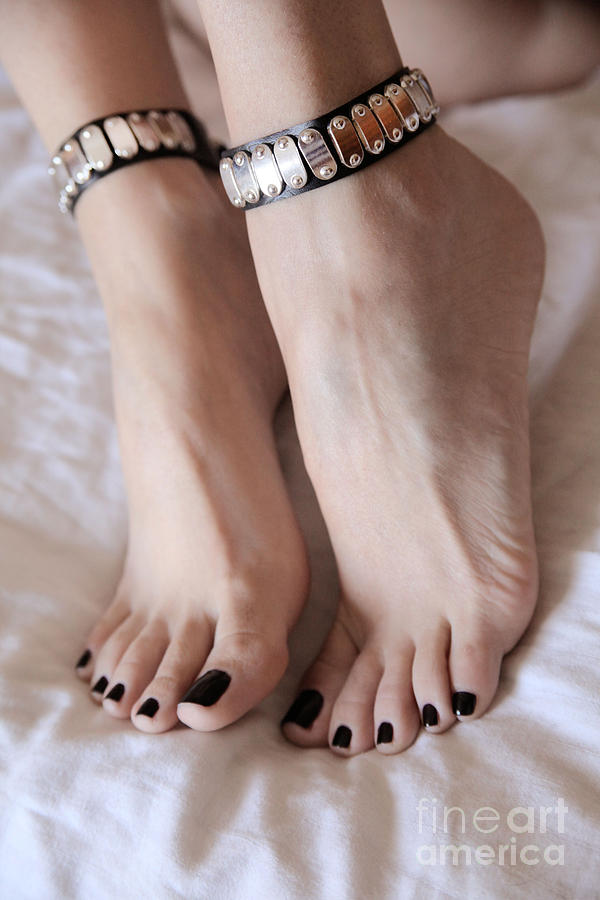 Feet Photograph - Her Amazing Feet by Tos