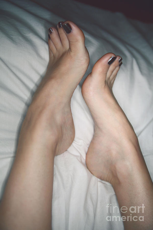 Feet Photograph - Her Curves by Tos