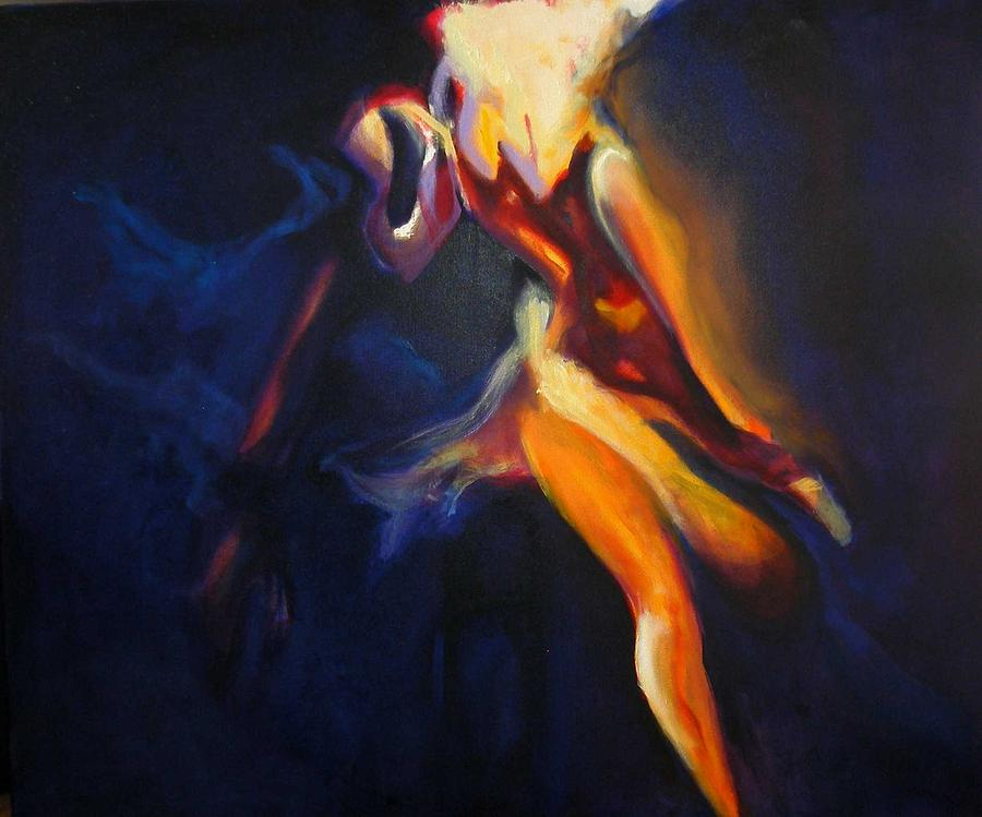 Finvola Irish Dance Dancing Solo Roe Song Painting - Her Name Was Finvola by Georg Douglas