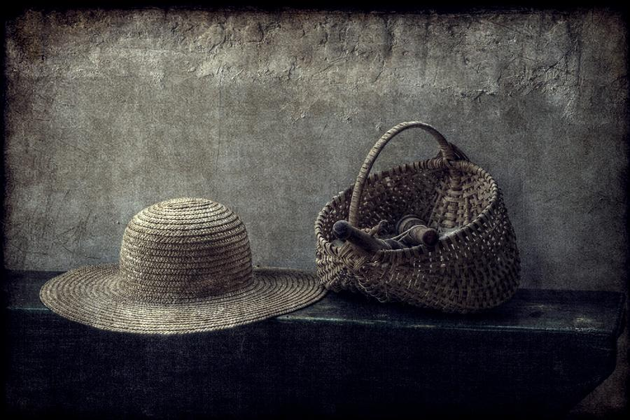 Still Life Photograph - Her Things by Christine Annas