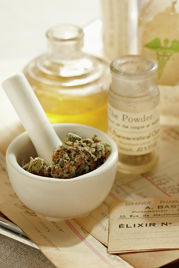 Herbal Medicine Photograph by Lew Robertson