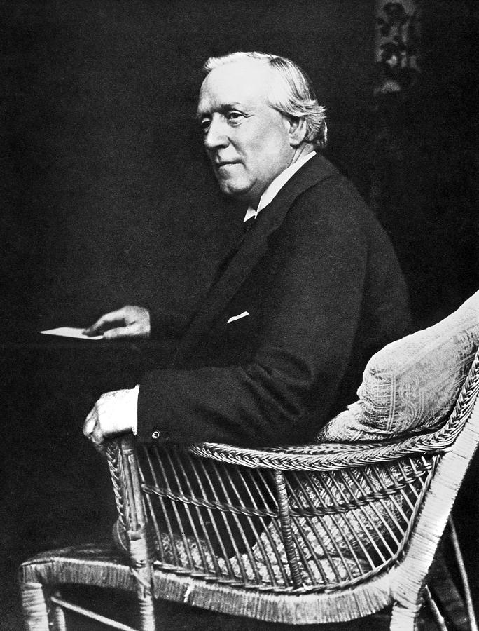Asquith Photograph - Herbert Henry Asquith (1852-1928) by Granger
