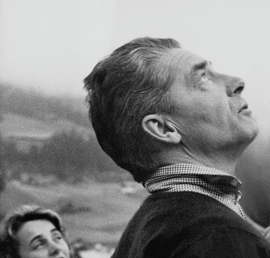 Herbert Von Karajan Photograph by Horst P. Horst