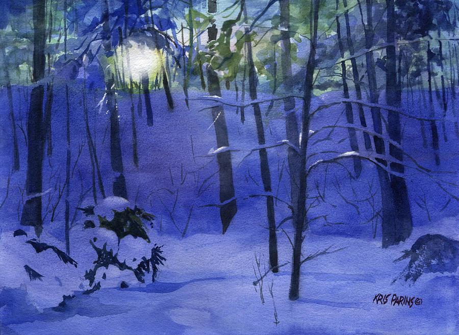 Kris Parins Painting - Here Comes The Sun by Kris Parins