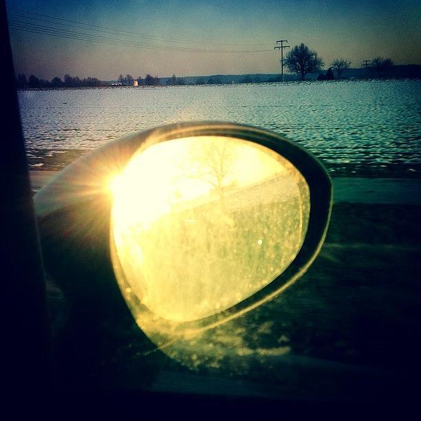 Sun Photograph - Here comes the sun by Matthias Hauser