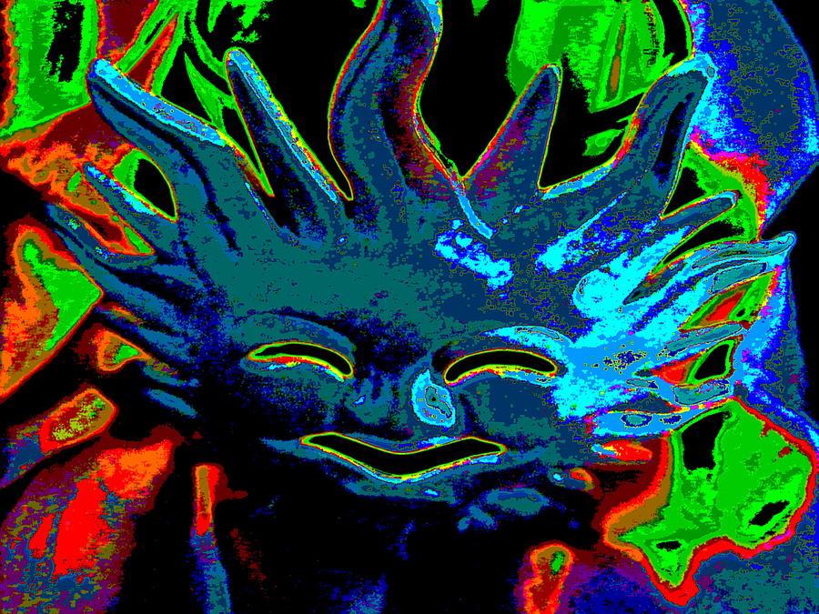 Sun Digital Art - Here Comes The Sun by Rebecca Flaig