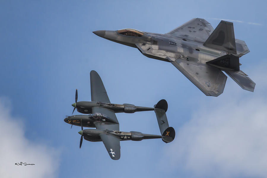 Raptor Photograph - Here You Go Air Force by Jeff Swanson