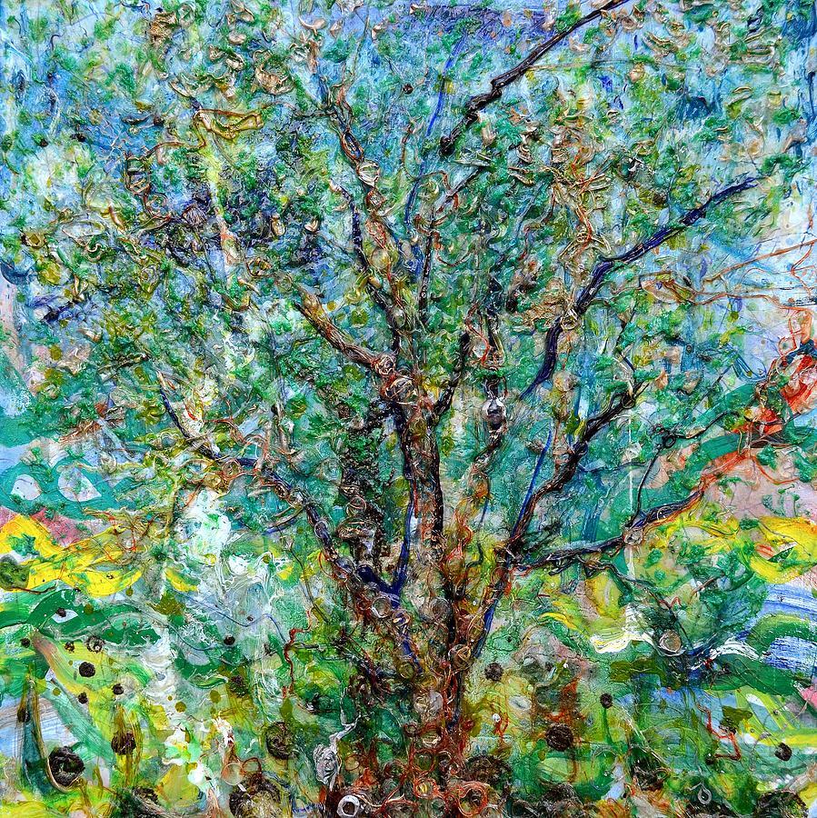 Tree Of Life Painting - Heredity by Regina Valluzzi
