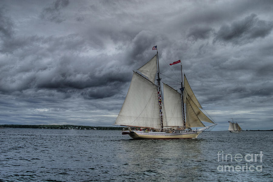 Ship Photograph - Heritage  by Alana Ranney