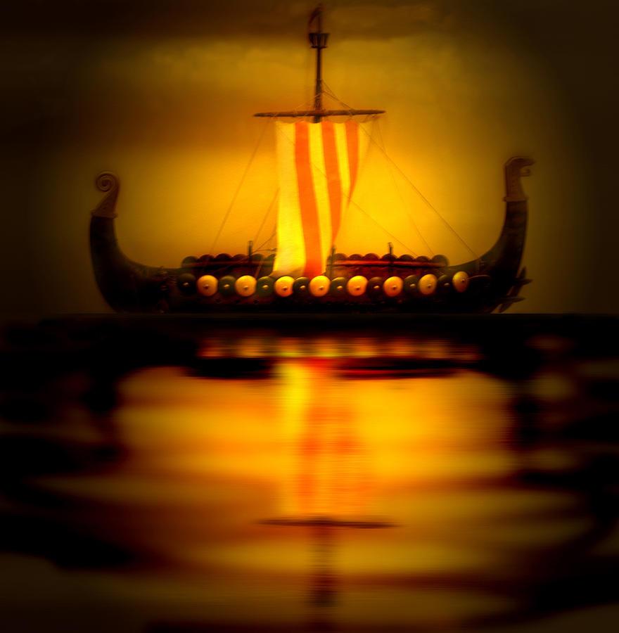 Viking Photograph - Heritage by Nina Fosdick