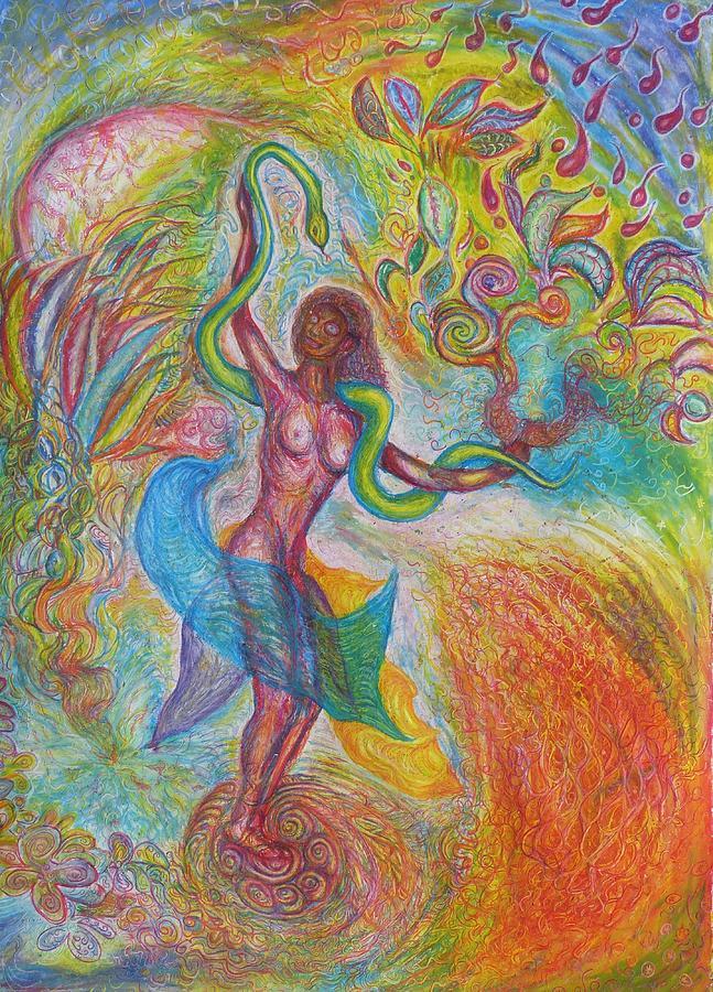 Philosophy Painting - Hermaphrodite by Sasko