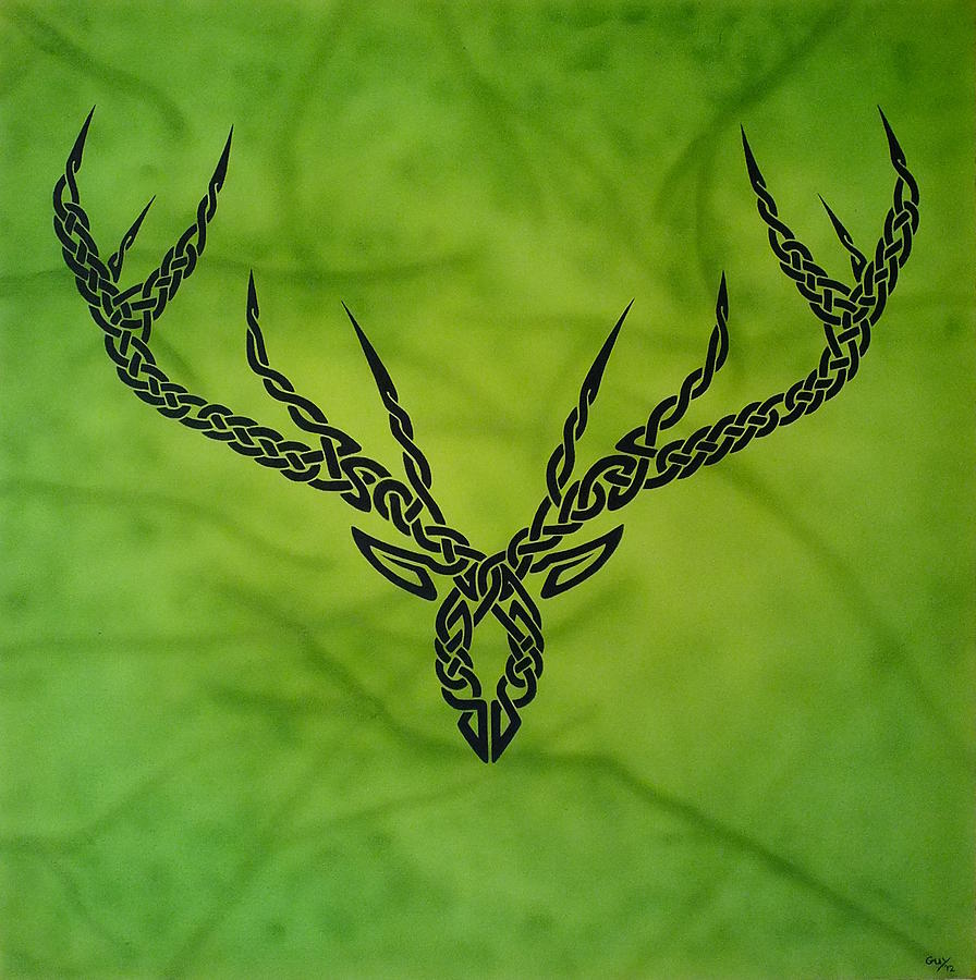 Herne Painting by Guy Pettingell