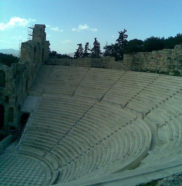 Athens Photograph - Herodion Theater by Katerina Kostaki