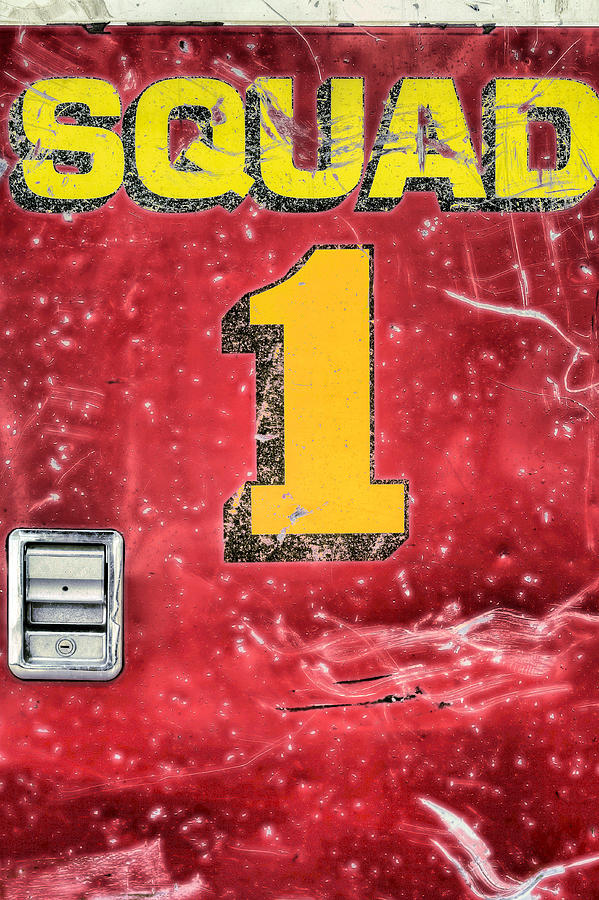 Squad 1 Photograph - Heroes by JC Findley