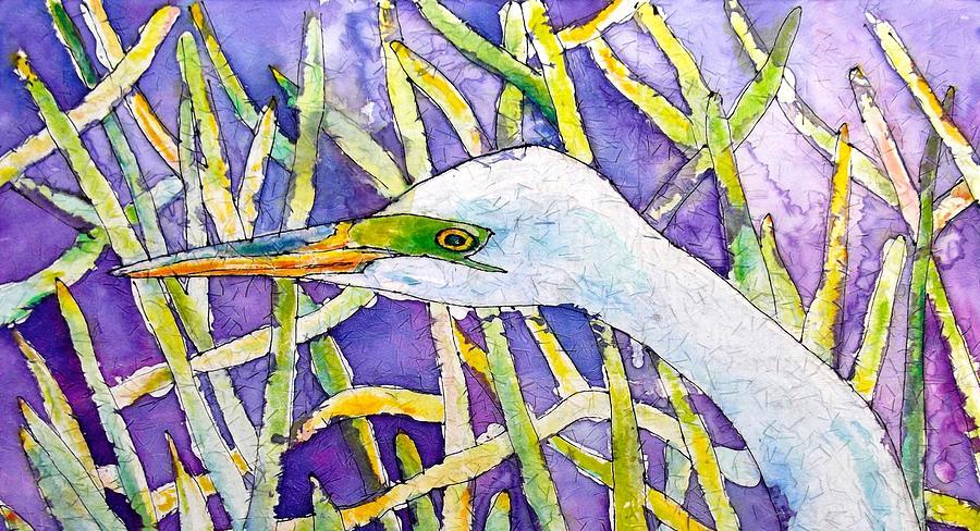 Heron in Everglades by Gloria Avner