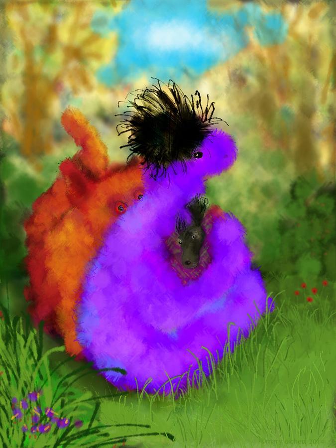 Fantasy Digital Art - Hes Mine by Mary Eichert