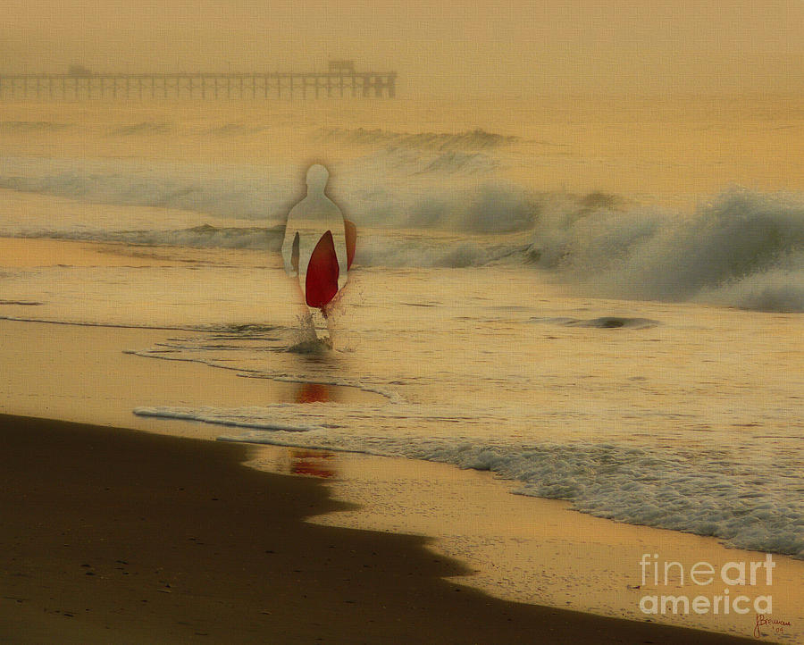Surfing Photograph - Hey What Happened To Bob by Jeff Breiman