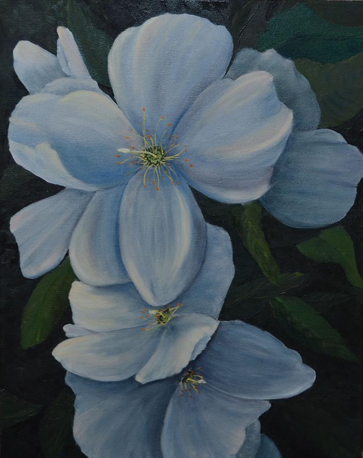 Hidden Beauty Painting by Marsha Thornton